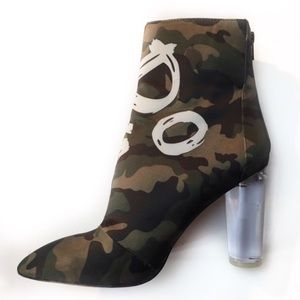 "Aldo Shoes - Aldo Oceani Ankle Bootie ""Do Ya Thing"" 8.5 Camo"